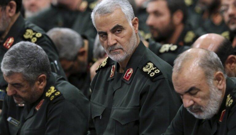 Irānas ģenerālis brīdina ASV: Mēs iznīcināsim visu, kas jums pieder