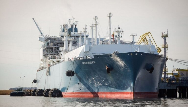 Литовский министр: Клайпеда может стать воротами газа США в Европу