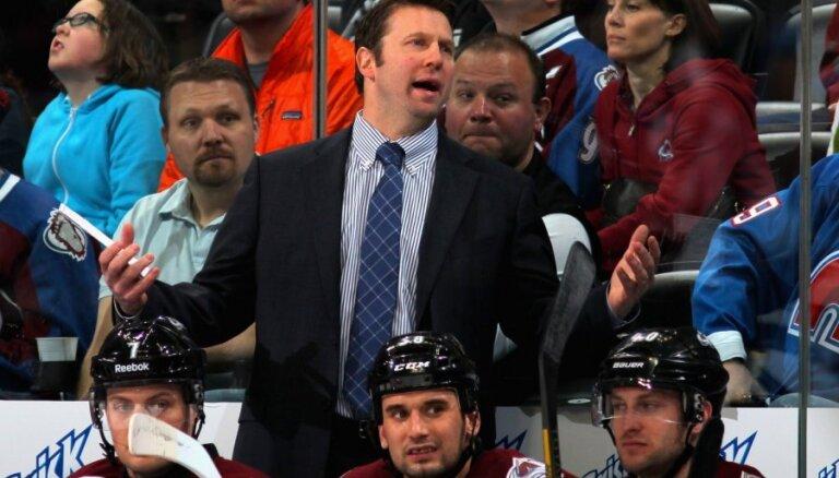 Kolorado 'Avalanche' atlaiž ASV izlases galveno treneri