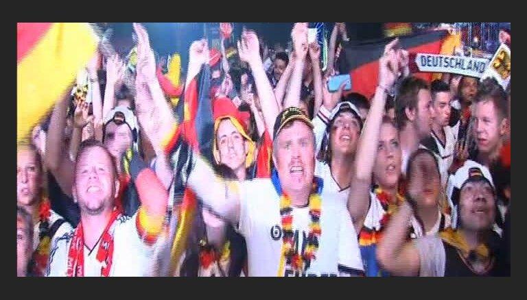 Video: Vācijas futbola fani līksmo pēc grandiozās uzvaras