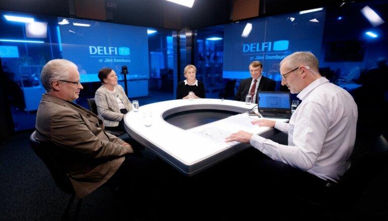 'Delfi TV ar Jāni Domburu' zinātnieku diskusija 'Kā sakaut Covid-19?'. Pilns ieraksts