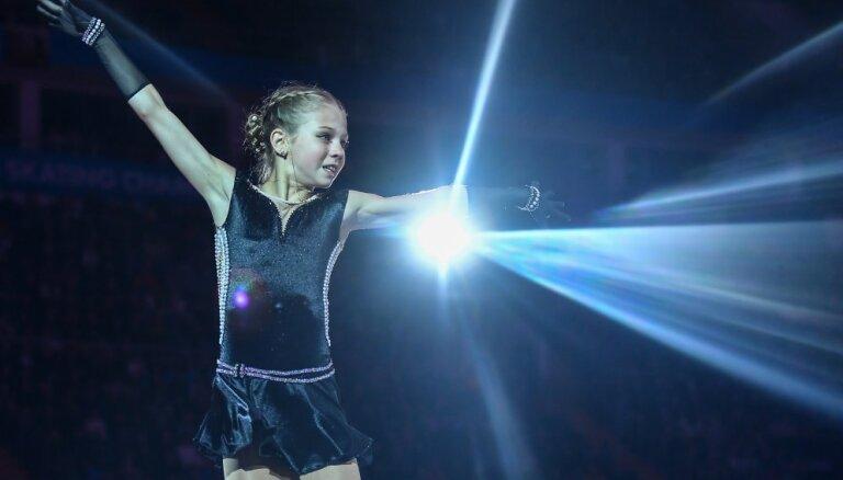 Российская фигуристка исполнила три четверных прыжка в одной программе