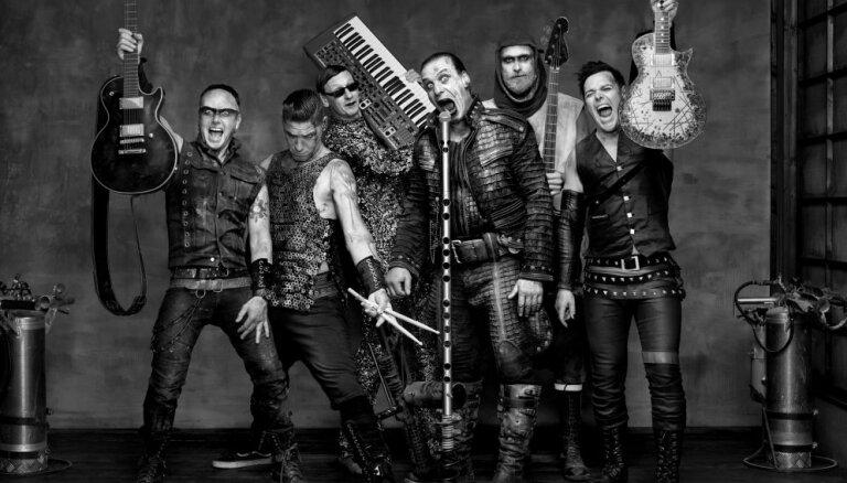 Pārcelts 'Rammstein' šovs Tallinas Dziesmu svētku estrādē
