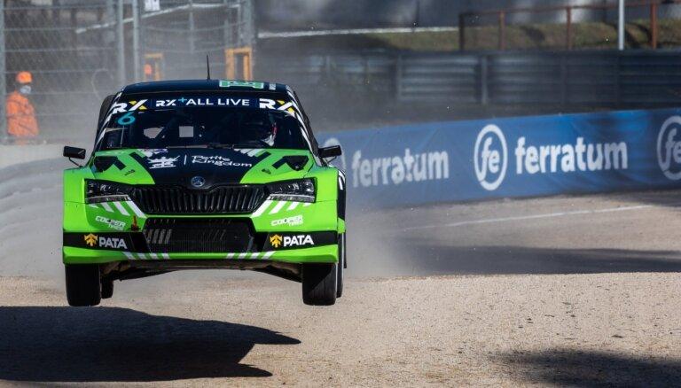 Baumanis pirmo dienu Biķernieku trasē 'Euro RX1' klasē noslēdz piektajā vietā