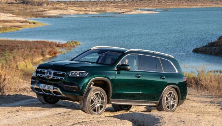 'Mercedes' prezentējis savu visgreznāko apvidnieku – jauno 'GLS'