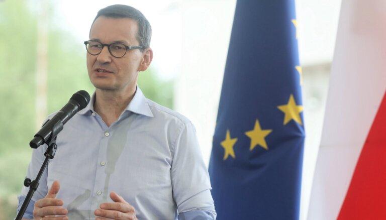 Jaunā koronavīrusa otrā viļņa gadījumā Polija nenoslēgs ekonomiku, norāda Moraveckis