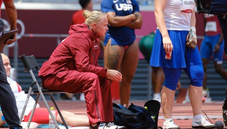 Igaune olimpiskajā stadionā nesajuta ritmu kājās un rokās