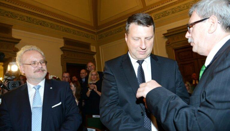 Raimondu Vējoni ievēl par Latvijas Valsts prezidentu (vēsturiskas tiešraides arhīvs)