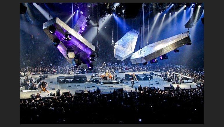 Piedalies konkursā un satiec grupu 'Metallica'!