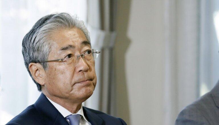 Korupcijas skandālā iesaistītais Japānas Olimpiskās komitejas prezidents atkāpsies no amata