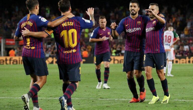 'FC Barcelona' kārtējo reizi labo rezervistu soliņa vērtības rekordu