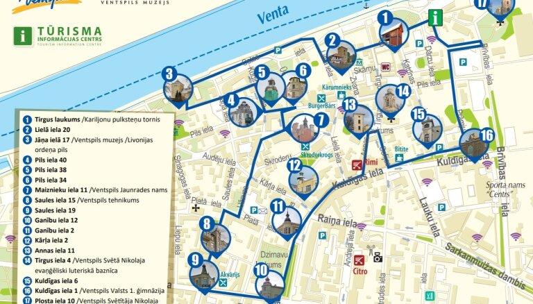 В поисках башни: В Вентспилсе создан новый пешеходный маршрут