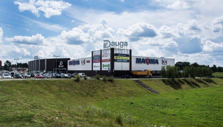 За долги на аукционе продают здание торгового центра в Огре