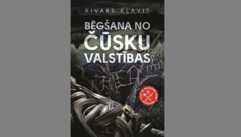 Klajā nācis otrs Aivara Kļavja vēsturiskais romāns jauniešiem