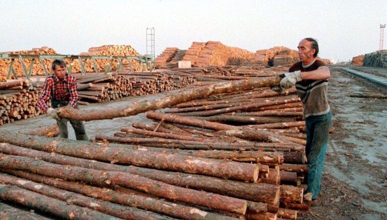 Meža produkcijas eksports astoņos mēnešos pieaudzis par 14,5%