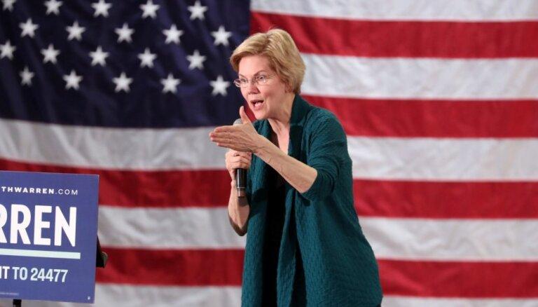 ASV prezidenta amata kandidāte Vorena ierosina atteikties no Vēlēšanu kolēģijas