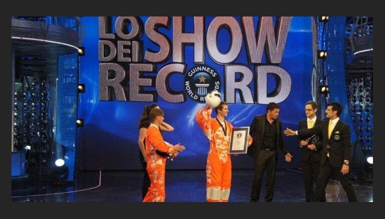 Latvietis uzstādījis jaunu Ginesa rekordu