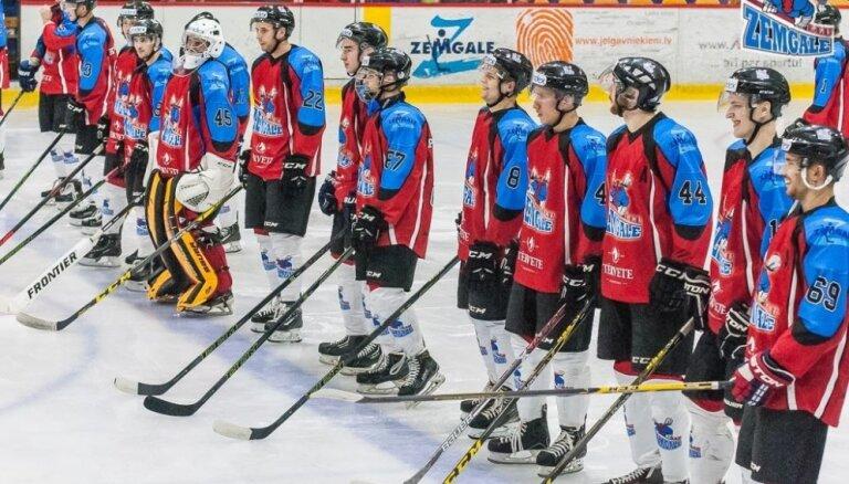 'Zemgale/LLU' hokejisti uzvar valsts čempioni 'Liepāju' un nostiprinās virslīgas pirmajā vietā