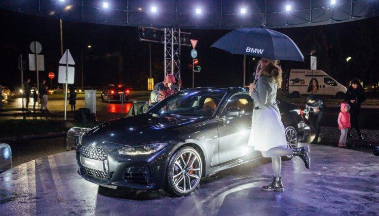Video: Latvijā prezentēta jaunā un provokatīvā BMW 4. sērija
