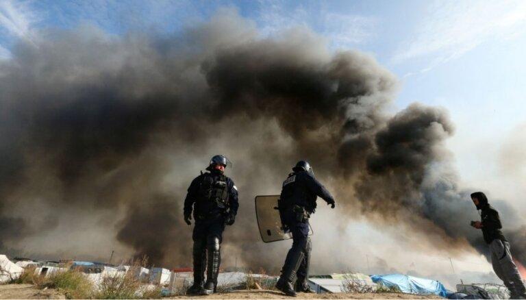 Olands cildina Kalē 'Džungļu' evakuāciju