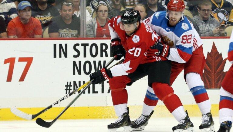 ВИДЕО: Канадцы выиграли выставочный матч у России в овертайме