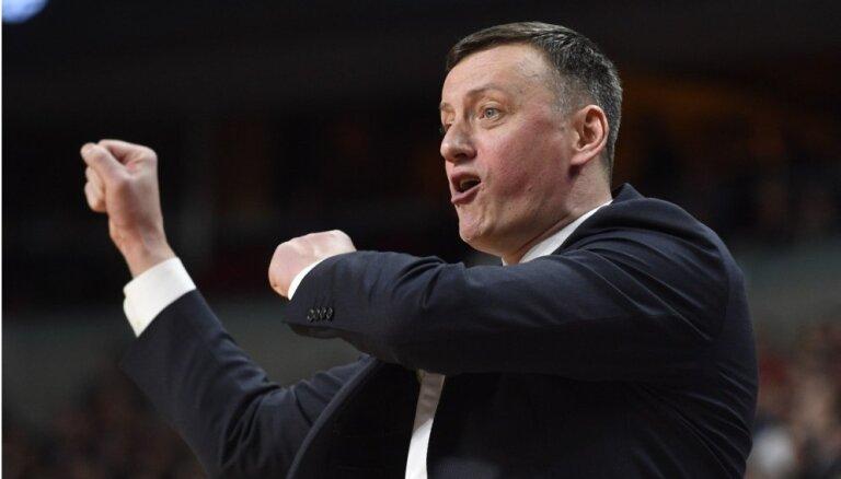 Vecvagars neturpinās darbu ar Latvijas basketbola izlasi