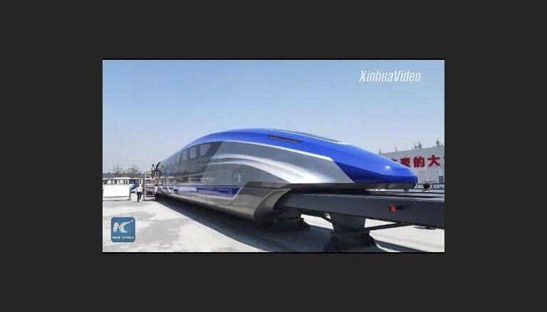 ВИДЕО. Представлен прототип самого быстрого поезда в мире