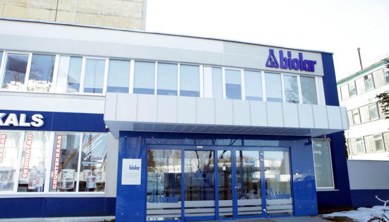 Olaines ķīmiskā rūpnīca 'Biolars' pērn nopelnījusi 1,7 miljonus eiro