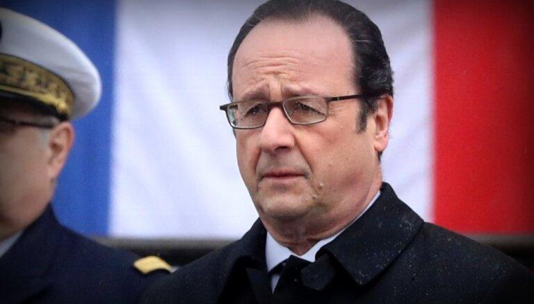 Galēji labējie spēki ir drauds Francijai un Eiropai, paziņo Fransuā Olands