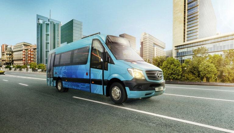 Andra Dambja radīto elektrisko mikroautobusu varēs apskatīt izstādē 'Auto 2019' Ķīpsalā