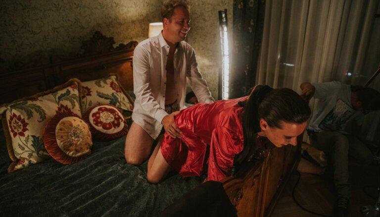 Ekskluzīvi foto: Ieskats Ēķa atklātajā komēdijā 'Klases salidojums 2'