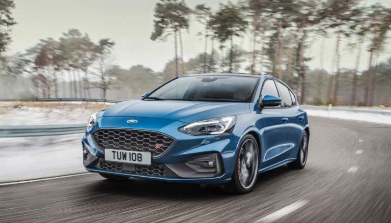 Jaunais 'Ford Focus' ieguvis sportisko modifikāciju 'ST'