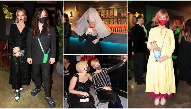 ФОТО: Как стильные рижане веселились на Неделе моды