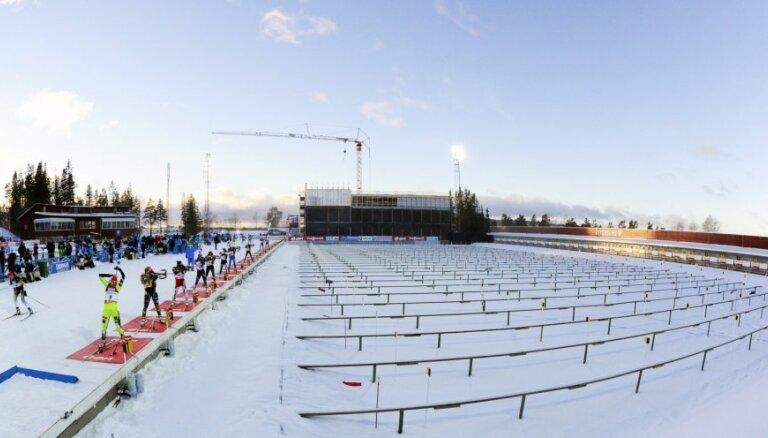 Ветер сломал в Ханты-Мансийске мачту: биатлонный сезон завершен досрочно