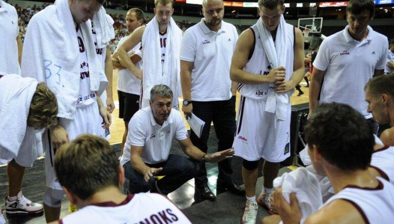 Второй спарринг сборная Латвии сыграла с хорватами вничью