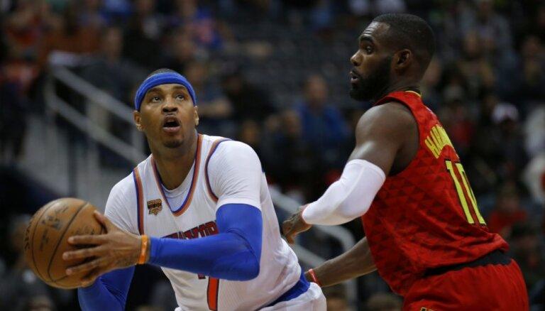 NBA atzīst izšķirošu tiesnešu kļūdu 'Knicks' dramatiskajā spēlē pret 'Hawks'