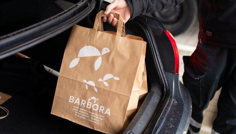 В Риге начали работать пункты Drive in интернет-магазина Barbora.lv