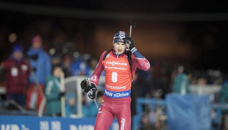 Rastorgujevam piecas kļūdas šaušanā Eiropas čempionāta individuālajā distancē