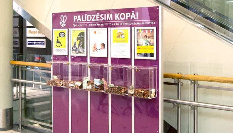 Par projektā 'Labdarības siena' saziedotajiem 7000 eiro palīdzēts gan bērniem, gan dzīvniekiem