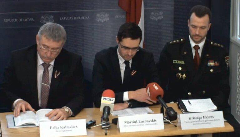 Preses konference par paveikto Zolitūdes traģēdijas seku likvidēšanā (Video tiešraide)