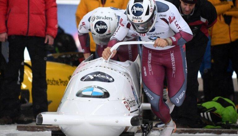 Латвийский экипаж взял бронзу на ЧЕ в Винтерберге