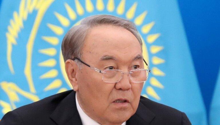 Kazahstānas prezidents pieņem valdības atkāpšanos