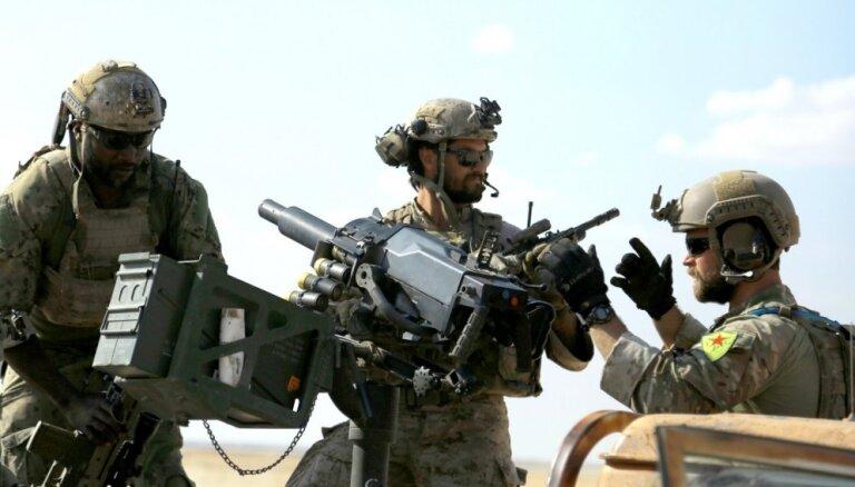 ASV uz Sīriju sūtīs vēl 200 karavīru