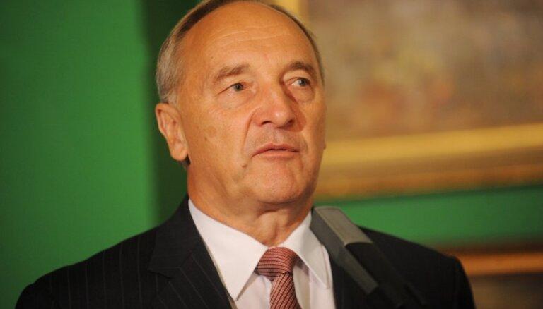 """Президент Латвии: """"Центру согласия"""" обижаться не на кого"""