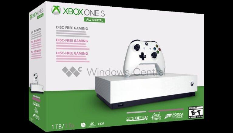 Bez iespējas ievietot disku: 'Xbox S' digitālā versija, visticamāk, iznāks maijā