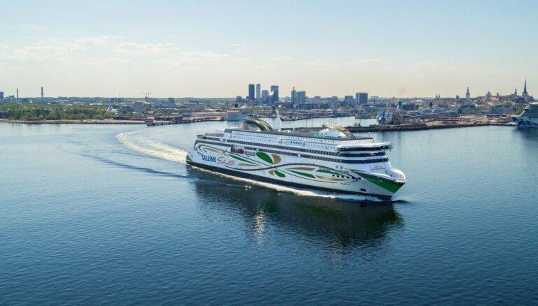 'Tallink Grupp' jaunais kuģis 'MyStar' tiek pie krustmātes
