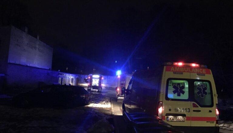 В результате пожара в Балтинавском крае погиб один человек