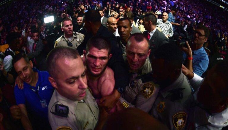 UFC atstādina Makgregoram uzbrukušo Tuhugovu