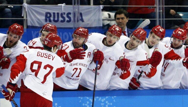 Российские хоккеисты обыграли чехов и вышли в финал олимпийского турнира