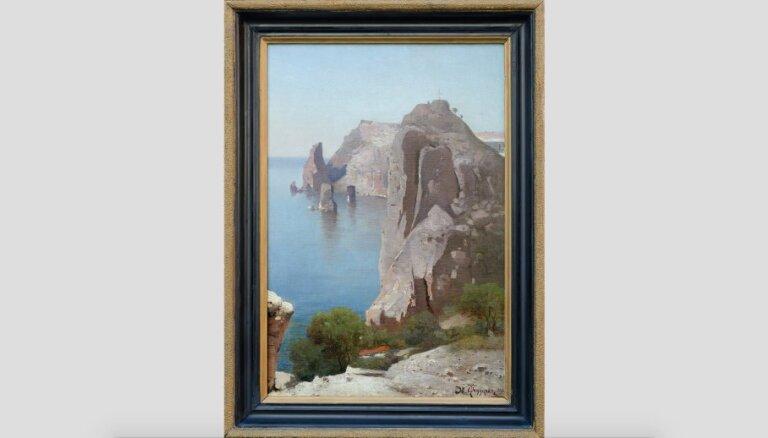 Rīgā, iespējams, atrasta par pazudušu uzskatīta Jūlija Federa glezna